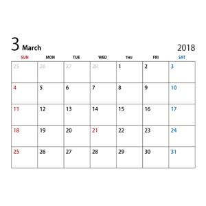 3月臨時休業のお知らせ